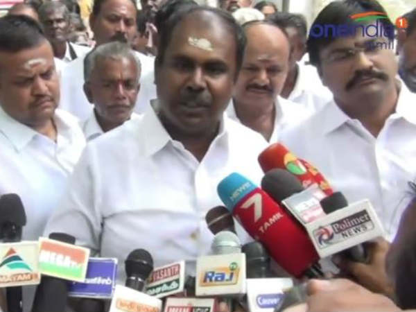 The AMMK's Gift box is Empty; Minister Udhayakumar Criticism