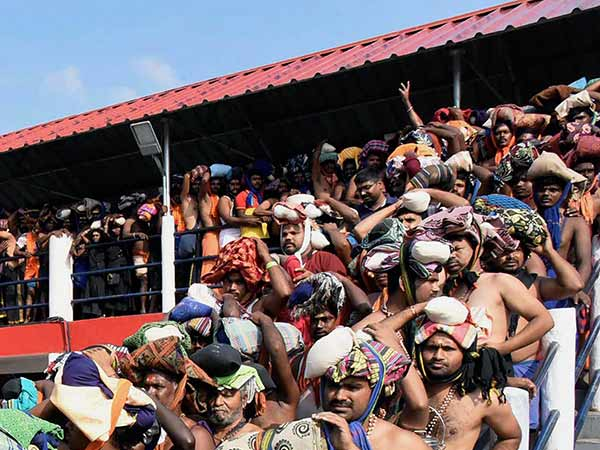 Two young women came to Sabarimala temple ...The police sent them back