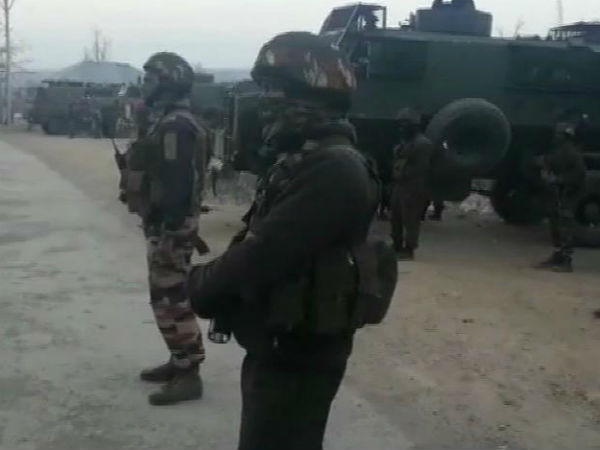 JammuAndKashmir: 3 terrorists killed in an encounter between terrorists & security forces in Keller area