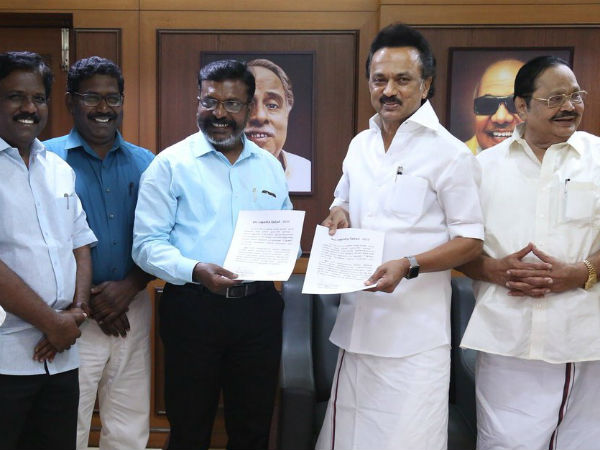 DMK and Viduthalai chiruthaigal Katchi having dialogue for constituency sharing