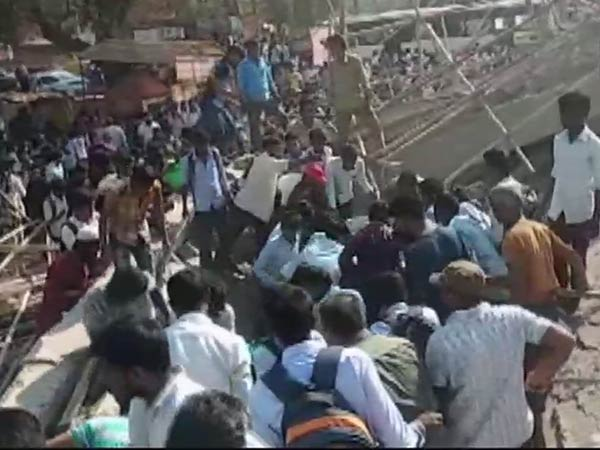 Under-construction building collapses in, 70 people feared trapped in Dharwad, Karnataka