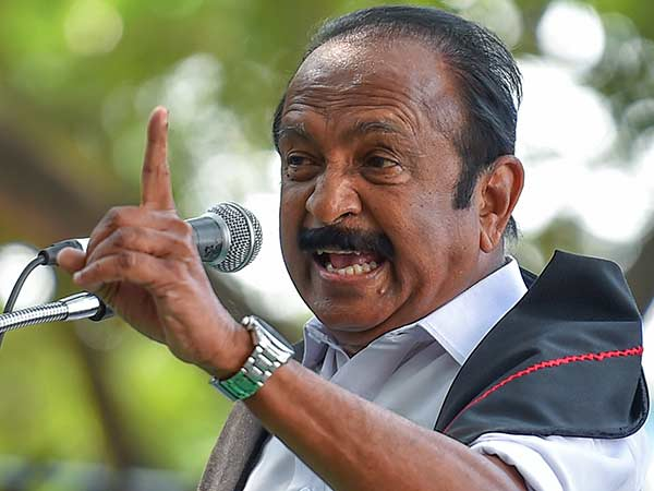 25 Industrialists fraudulent Rs 90,000 crores and run Says Vaiko
