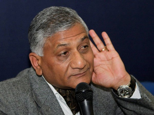 Can the dead mosquitoes be counted VK Singh question to the opposition parties