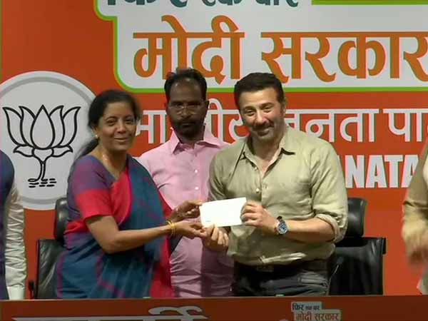 Actor Sunny deol joins BJP today