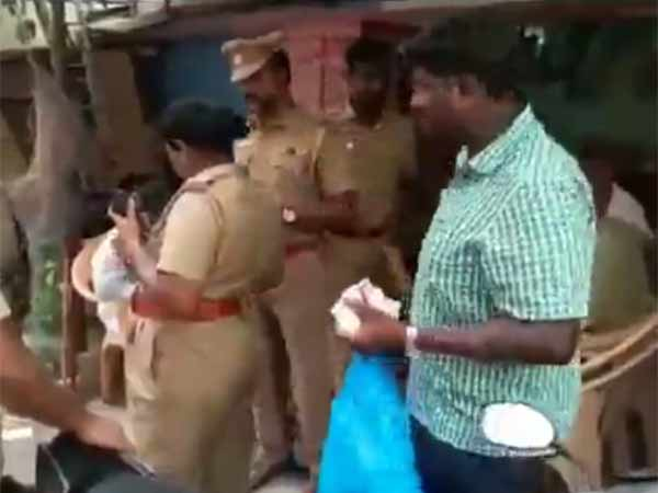ADMK functionary arrested for bribing voters