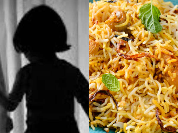 5 years old girl died of taking old Briyani