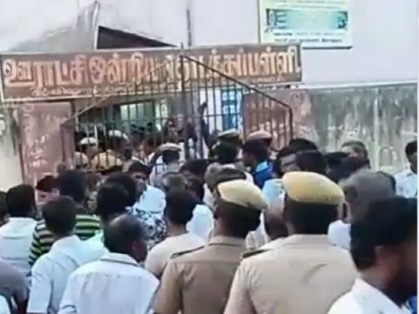 CRPF did firing on air to disperse the crowd in Arakkonam polling station