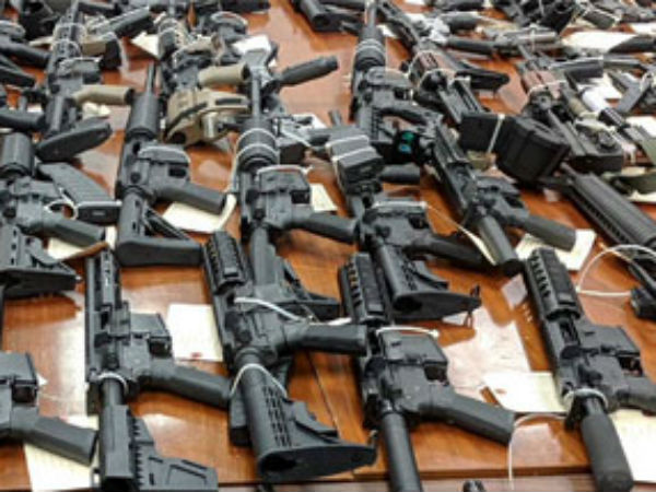 Guns seized from Sri Lanka Eastern Province governor Hizbulla office