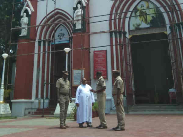 Immediately place CCTV cameras in churches, Heavy Security In Puducherry