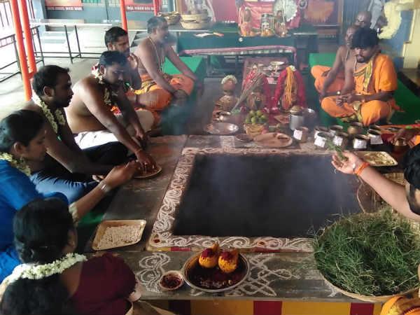 தன்வந்திரி பகவானுக்கு திருவோண தைலாபிஷேகம் - நோய்களில் இருந்து நிவாரணம் பெறலாம்