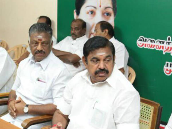 When will Edappadi Palanisami government fall