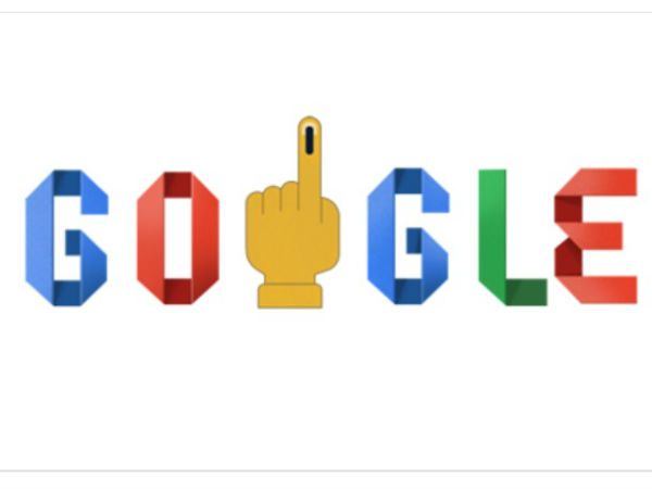 Google comes up with Doodle on Elections