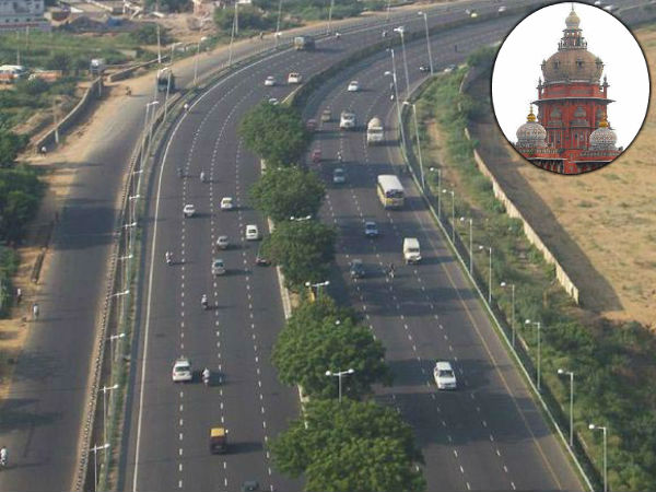 High Court will give verdict on Chennai-Salem road Project on Monday