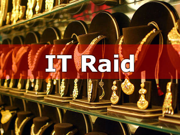 I-T officials raids jewellery owner house in Tiruvannamalai city