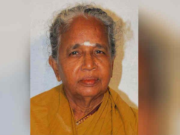 Pattukkottai Kalyana Sundarams wife died