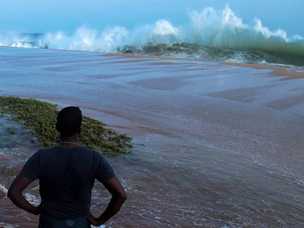Furious Sea in Kanyakumari, Fishermens fear