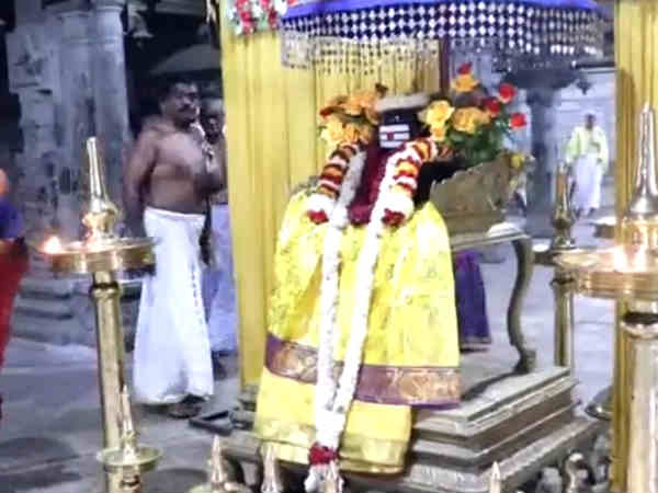Keralas Vishu Function celebrated in Suseenthiram Temple, Tamilnadu