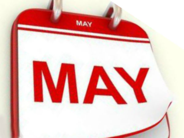 Important muhurtham days for the month of May
