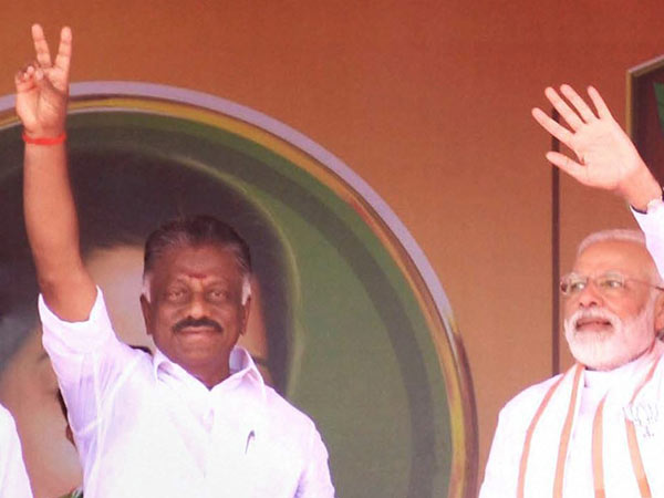 O panneerselvam and his son participated modis ganga aarti in varanasi