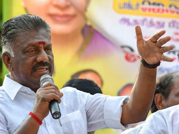 O.Pannerselvam says his son is not involved in Mekedatu