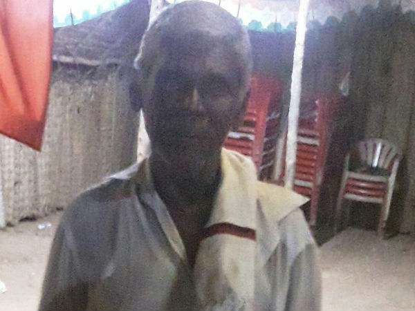 Police Inspector attacks an Old Man in Trichy