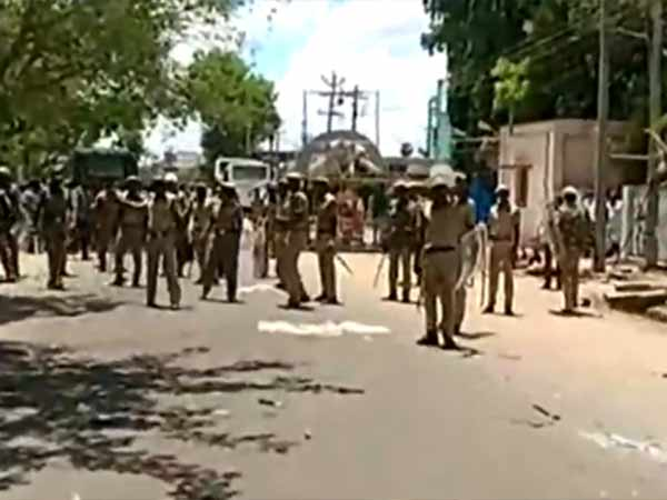 Following the riot, case register Both Side On 18 peoples in Paramakudi