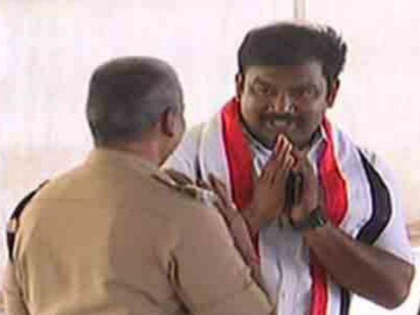பழக்க தோஷத்தில் வணக்கம் போட்ட ராஜ் சத்யன்.. மதுரையில் மீண்டும் பஞ்சாயத்து