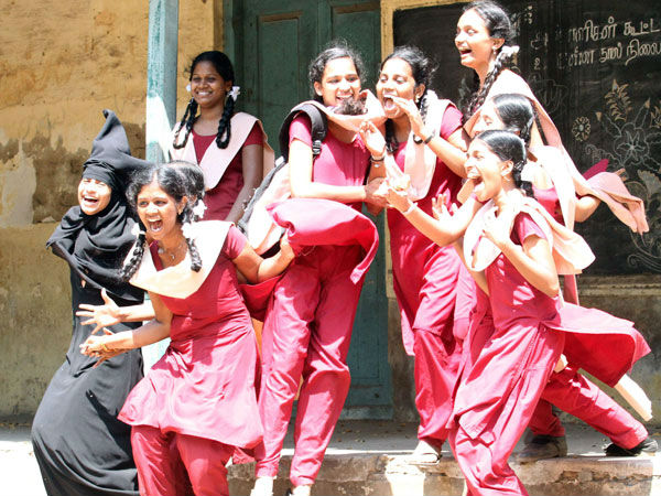 4 chennai corporation schools100 percent pass in plus 2 exam