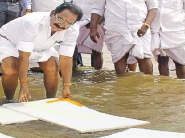 Why I float Thermocol in Vaigai river? Sellur K. Raju explains the reason