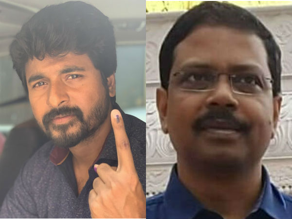 Investigating about actor Sivakarthikeyan voted Says Election officer Satyabrata Sahoo