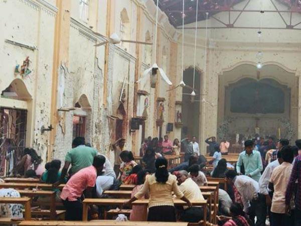 ஒரே நாளில் 8 இடங்களில் குண்டுவெடிப்பு.. டென்ஷனில் இலங்கை… 7 பேர் கைது, விசாரணை தீவிரம்