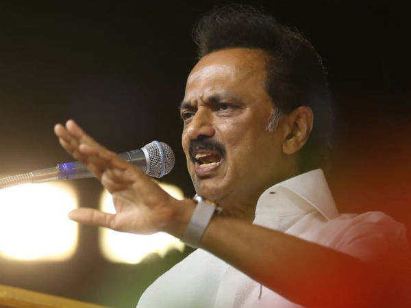 Crores of rupees In Tamilisais Home; Why did not raid there? DMK president MK Stalin questioned