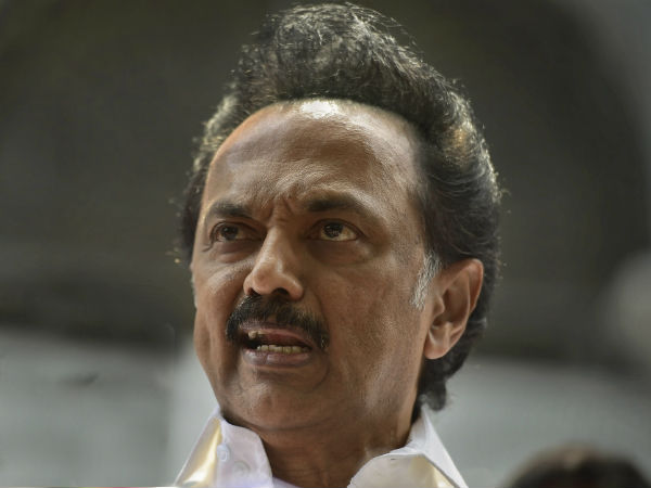Will bring a resolution to remove the assembly speaker if he acts in a partisan says M K Stalin