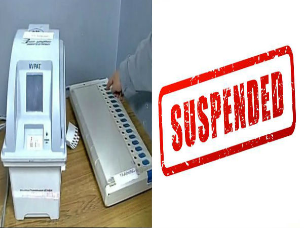 Madurai tahsildar suspended for entering voting machine room