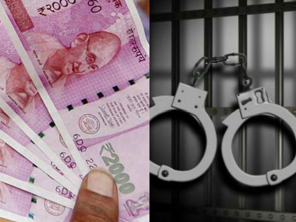 4 DMK persons have been arrested for allegedly distributing cash