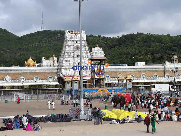 Four and a half hour stop Darshan on the 27th day In Tirupati Temple , Devasthanam announcement