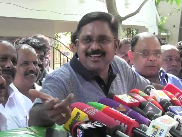 center and state plans stop the 18-member of assembly by election by IT Raid : TTV Dhinakaran