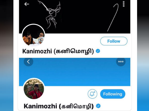 Periyar picture removed from Kanimozhi twitter handle