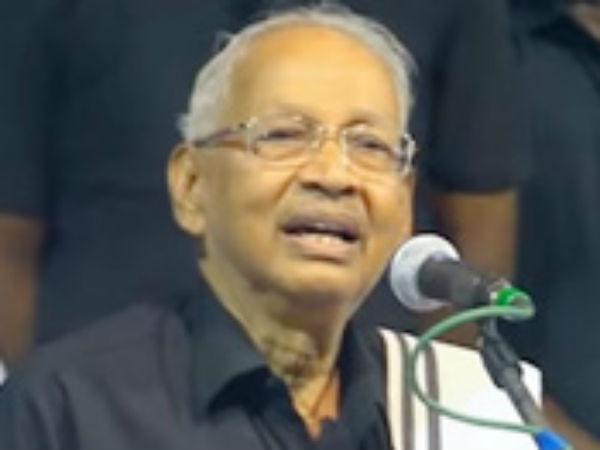பாஜக தேர்தல் அறிக்கையை பார்த்தீர்களா... சிந்திக்க வேண்டாமா... கி.வீரமணி கொந்தளிப்பு