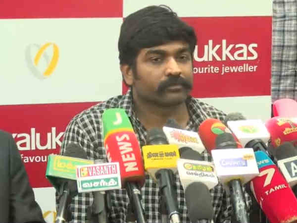 whoever is mentally matured to serve the people can enter into politcs, vijay sethupathi