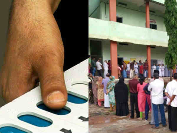 Voting in one polling stations stops in Kerala after a complaint arises