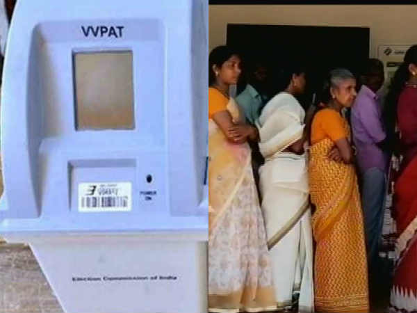 small Snake inside VVPAT machine holds up polling in Kannur
