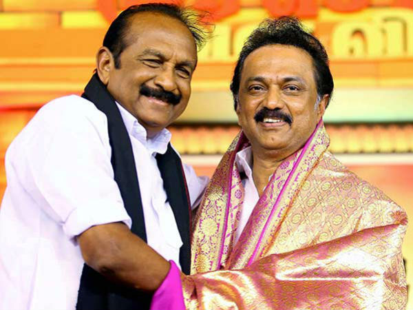 Im waiting for MK Stalin to be the Chief Minister Says Vaiko
