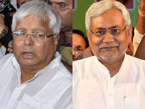 You stabbed the arrow on the back of Biharis.. Lalu was criticized Nitish Kumar