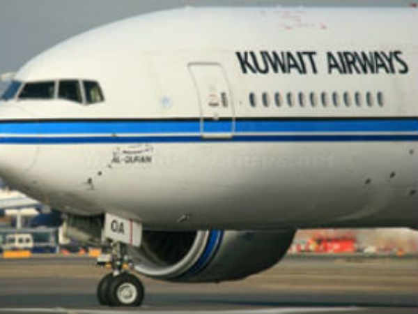 Indian employee who saw the flight Departure in Kuwait airport .. Stuck at the wheel of death