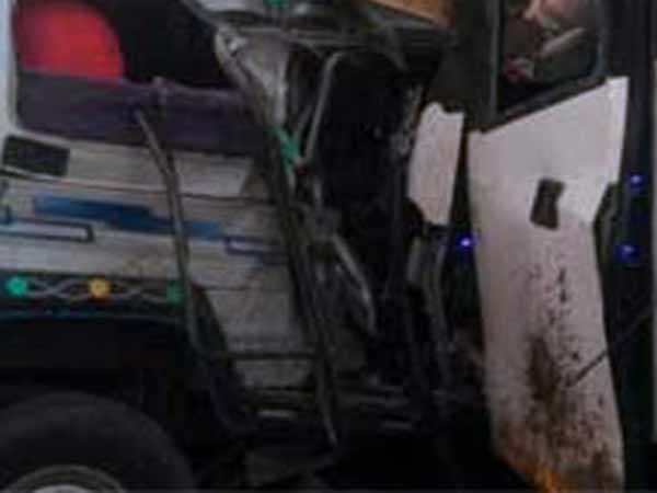 Private bus and jeep Accident In Andhra Pradesh, 15 dead