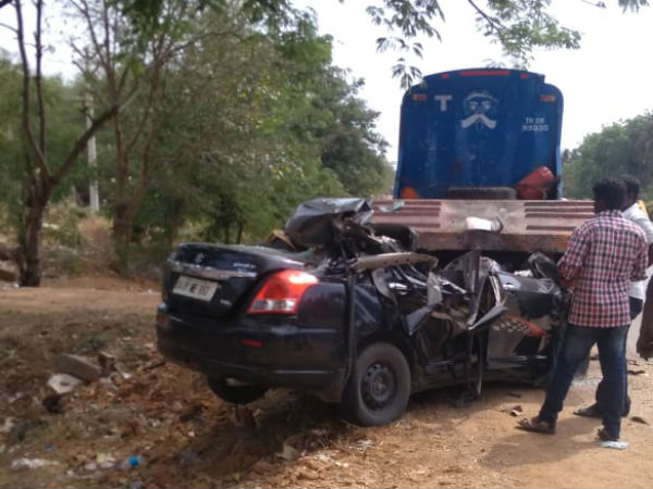Terffic Accident near Vellore: 7 dead