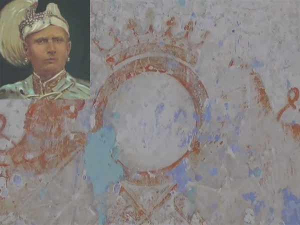 ராஜராஜ.. ராஜ மார்த்தாண்ட.. சுசீந்திரம் பள்ளிச் சுவரை சுரண்டியபோது.. கண்டெடுக்கப்பட்ட ராஜ முத்திரை