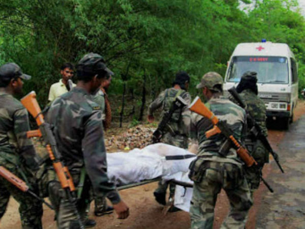 maoists kill 352 security forces in last five years