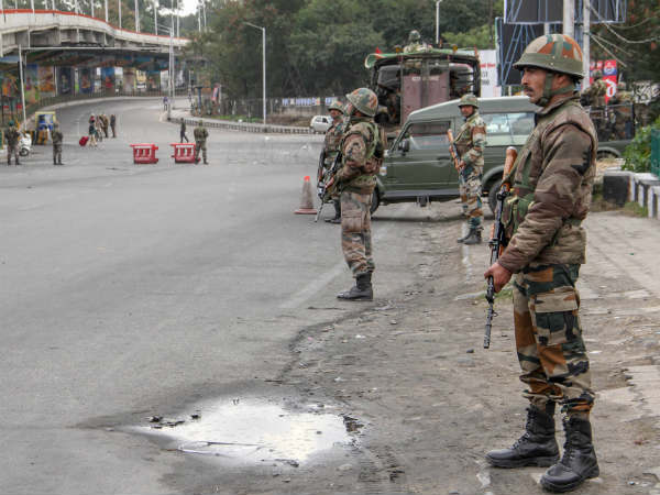 Two terrorists have been neutralised by security force